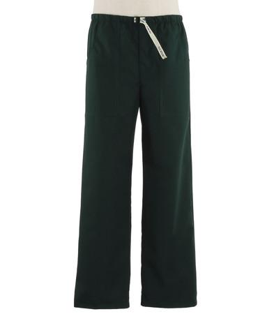 Scrub Med Mens discount Belted zipper forest green scrub pants