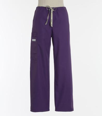 Scrub Med womens discount purple drawstring scrub pants