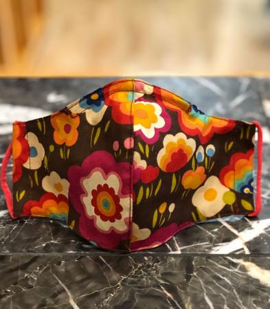 scrub med social distance washable face mask with filter pocket