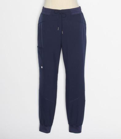 barco one boost petite jogger scrub pants indigo - style BOP513P
