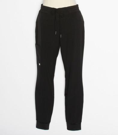 barco one boost petite jogger scrub pants black - style BOP513P