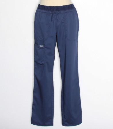 Cherokee Workwear Revolution Womens Navy Cargo Scrub Pants WW105P