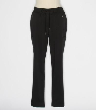 Healing Hands Purple Label Toni Womens Black Petite Scrub Pants style 9141P