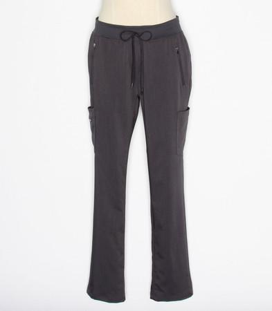 Healing Hands Purple Label Toni Womens Pewter Tall Scrub Pants style 9141T