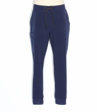 barco one mens vortex jogger scrub pants indigo - style BOP520