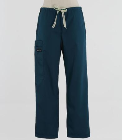 Scrub Med womens discount drawstring scrub pants spruce