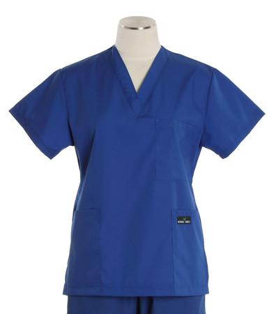 Scrub Med womens v-poc scrub top pacific blue (scrublite)