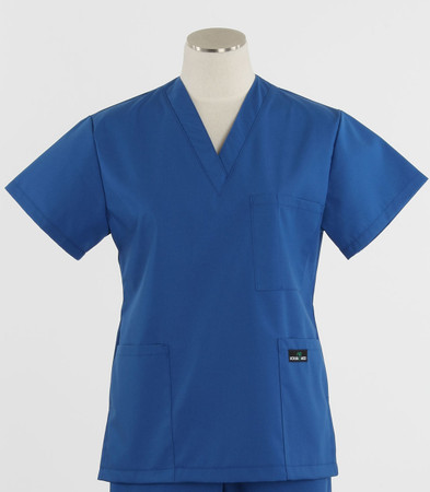 Scrub Med womens discount v-poc scrub top skipper blue