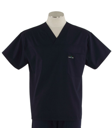 Scrub Med mens v-neck twilight scrub top