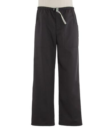Scrub Med Mens Belted charcoal scrub pants