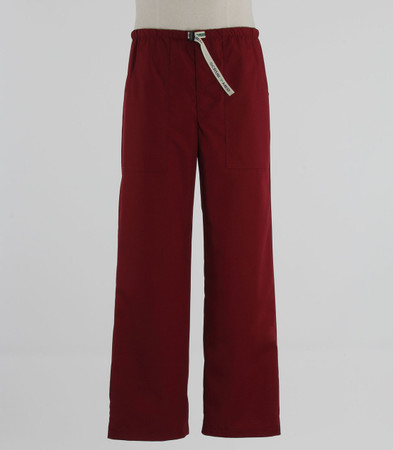 Scrub Med Mens discount Belted currant scrub pants