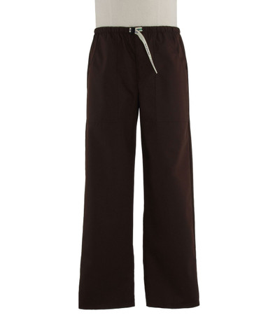 Scrub Med Mens Belted dark chocolate scrub pants