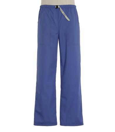Scrub Med Mens Belted hyacinth scrub pants