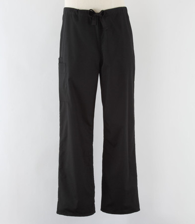 Cherokee Workwear Originals Unisex Black Cargo Scrub Pants