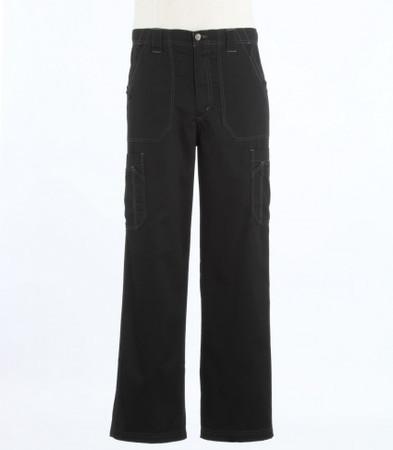 Carhartt Mens Tall Black Scrub Pants with Multi Cargo Pockets