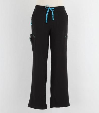 Carhartt Womens Tall Black Cross Flex Boot Cut Scrub Pants