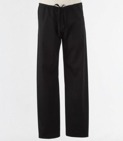 Maevn Petite Black Unisex Seamless Drawstring Scrub Pants