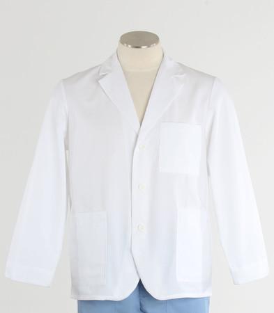Meta Labwear Mens White Consultation Jacket