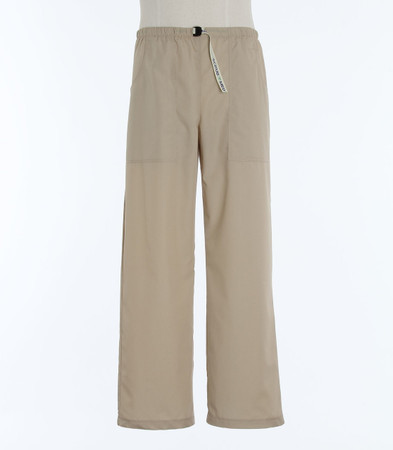 Scrub Med Mens Belted putty scrub pants
