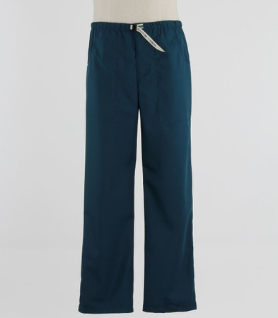 Scrub Med Mens Belted spruce scrub pants