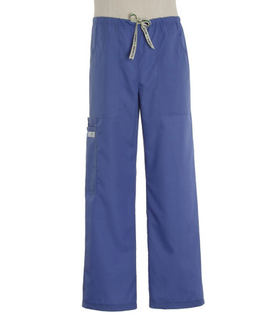 Scrub Med Mens drawstring hyacinth scrub pants