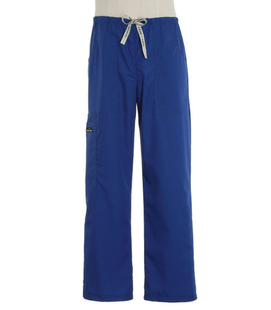 Scrub Med mens drawstring pacific blue scrub pants