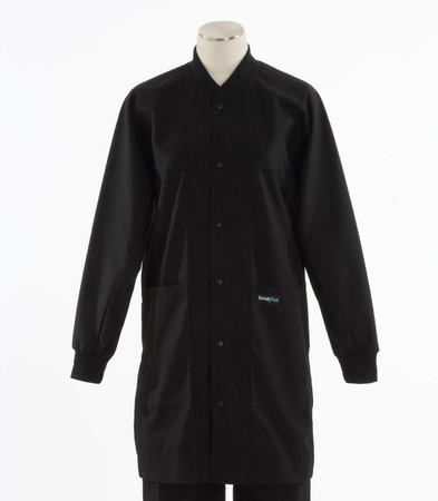Scrub Med ROM lab coat black