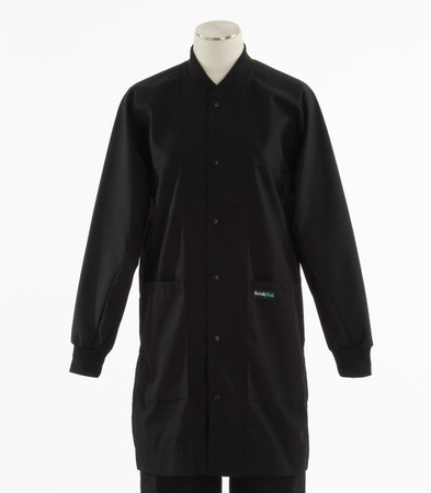 Scrub Med ROM lab coat black