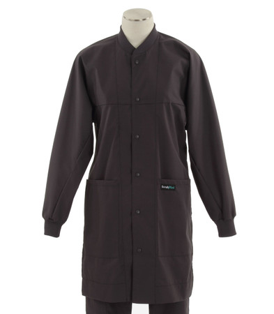 Scrub Med ROM lab coat charcoal