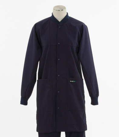 Scrub Med ROM Lab Coat Navy