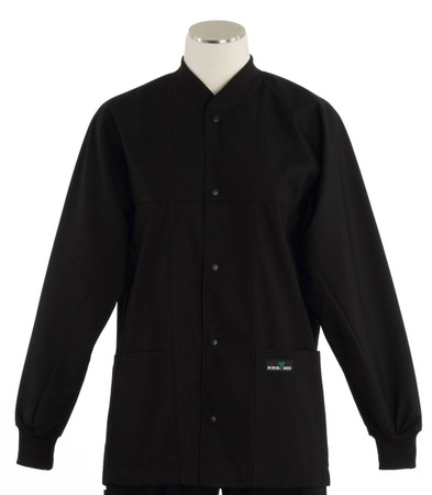 scrub med ROM black lab jacket