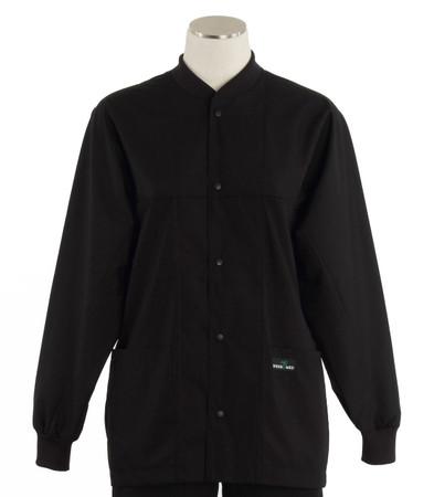 Scrub Med ROM midnight lab jacket