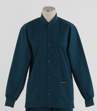 Scrub Med ROM spruce lab jacket
