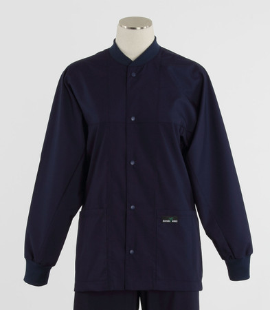 Scrub Med ROM twilight lab jacket
