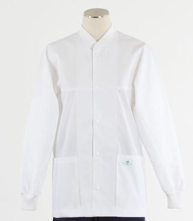 Scrub Med ROM white lab jacket