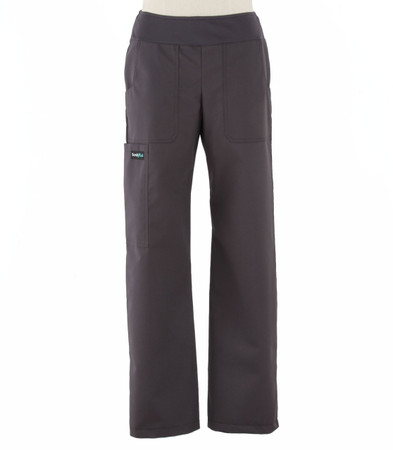 Scrub Med womens yoga scrub pants charcoal