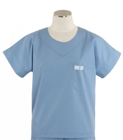 Scrub Med womens scrub top celestial blue
