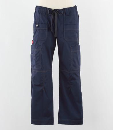 Dickies womens scrub pants navy