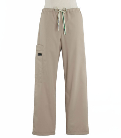 Scrub Med womens drawstring scrub pants khaki
