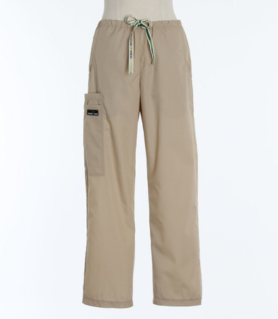 Scrub Med womens drawstring scrub pants putty (scrublite)