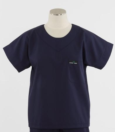 Scrub Med womens scrub top navy
