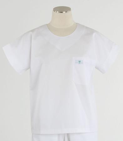 Scrub Med womens scrub top white