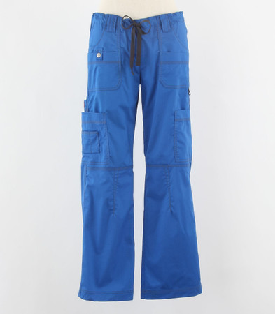 Dickies Gen Flex Womens Cargo Scrub Pants Royal