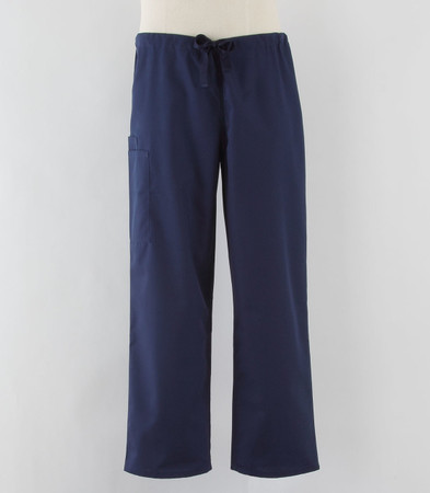Cherokee Workwear Originals Unisex Cargo Scrub Pants Navy