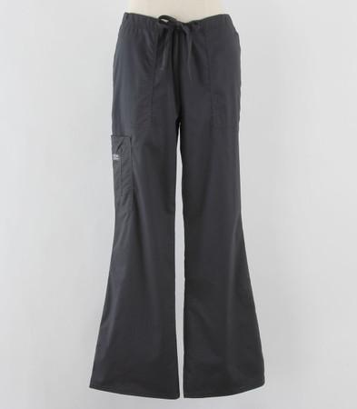 Cherokee Workwear Womens Cargo Scrub Pants Pewter