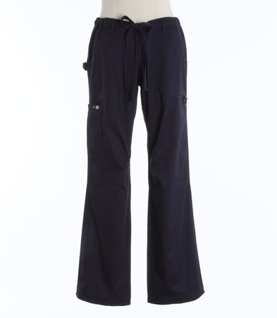 Koi Womens Scrub Pants Lindsey Cut Navy