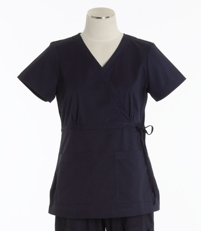 Koi Womens Scrub Top Katelyn Cut Navy
