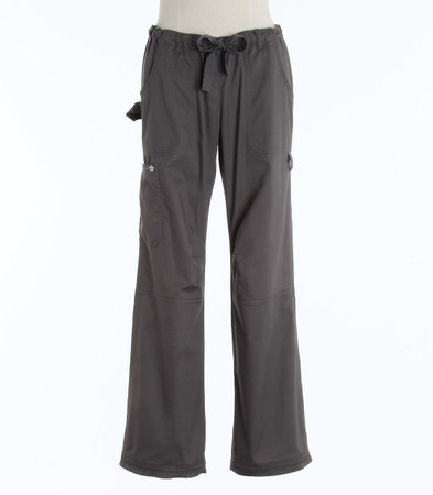 Koi Womens Scrub Pants Lindsey Cut Steel