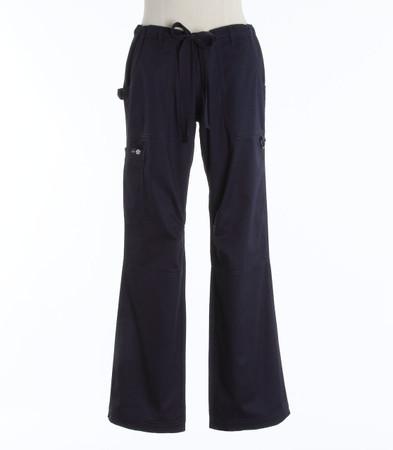 Koi Womens Scrub Pants Lindsey Cut Navy Petite