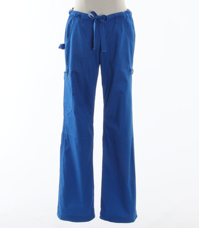 Koi Womens Tall Scrub Pants Lindsey Cut Royal